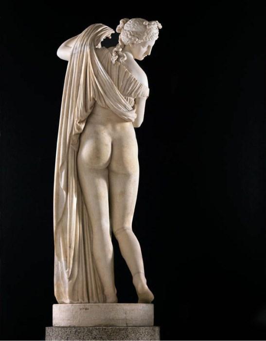 Венера Каллипига в Национальном археологическом музее Неаполя. | Фото: pinterest.com