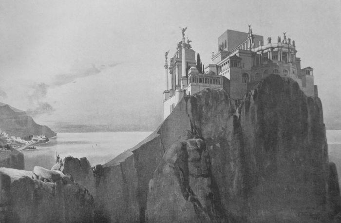 Вилла Юпитера. Реконструкция К. Вейнхардта, 1900 г. | Фото: upload.wikimedia.org.