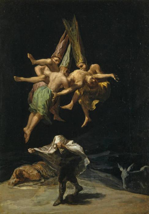 Полет ведьм. Франсиско Гойя, 1707-1798. | Фото: commons.wikimedia.org.