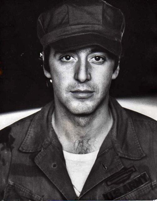 Аль Пачино в театральной постановке «Базовая подготовка Паоло Хуммеля», 1971 год. | Фото: thevintagenews.com.