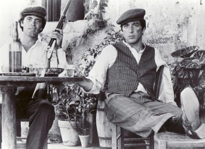 Майкл Корлеоне на родине в Италии. | Фото: godfather.wikia.com.