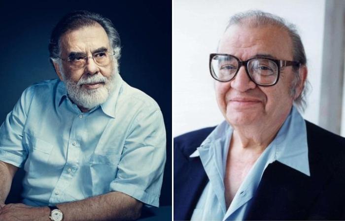 Марио Пьюзо и Фрэнсис Форд Коппола – создатели «Крестного отца».
