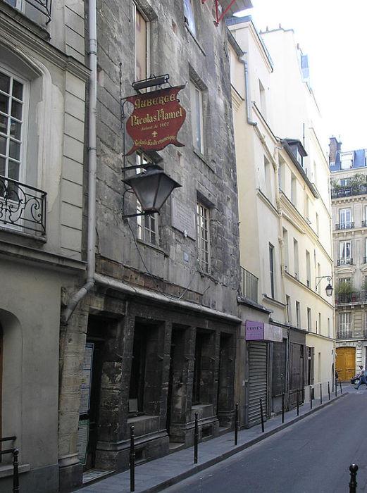 Дом Николя Фламеля в Париже. | Фото: commons.wikimedia.org.