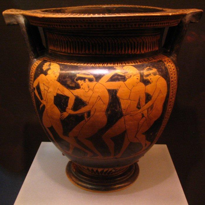 Греческая ваза с интимными картинками. | Фото: farm4.static.flickr.com.