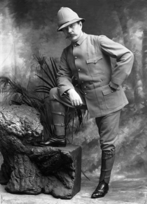 Артур Конан Дойл на англо-бурской войне, апрель 1900 года. | Фото: pinterest.com.