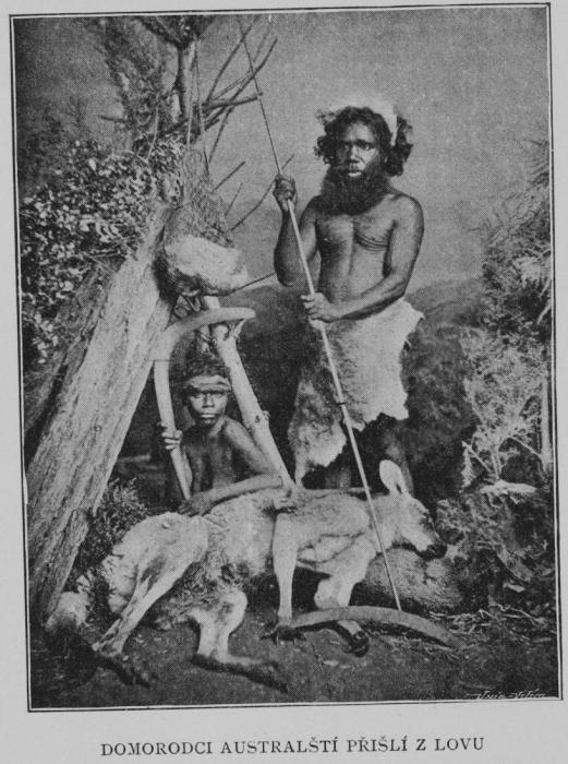 Австралийские аборигены. | Фото: pinterest.com.