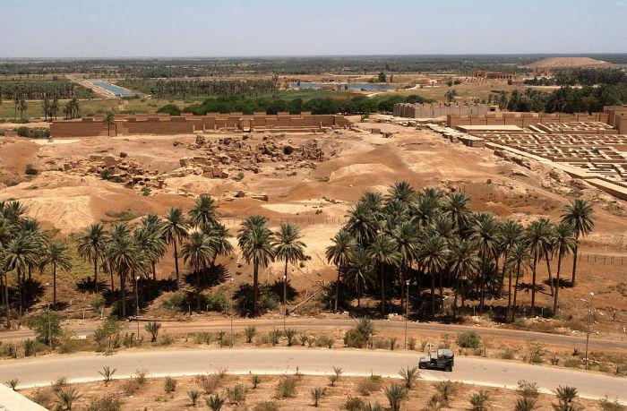 Руины Вавилона. | Фото: ru.wikipedia.org.