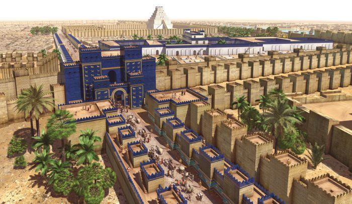 Ворота богини Иштар в Вавилоне. | Фото: dkfindout.com.