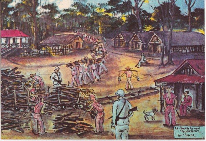 Лагерь пожизненно осужденных, Французская Гвиана. | Фото: avisa11.skyrock.com.
