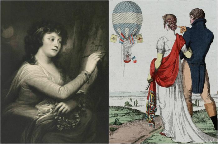 Княгиня Гагарина – первая русская женщина-воздухоплаватель.