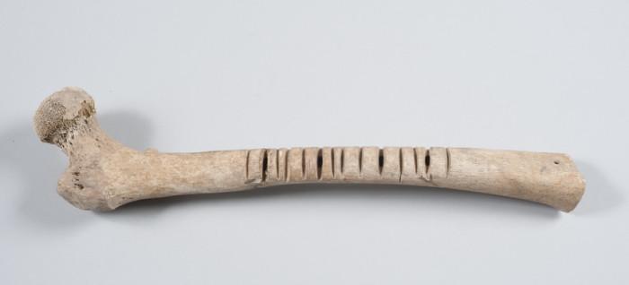 Музыкальный инструмент омичикауастли. Мексика, XIV-XVI вв. | Фото: europeana.eu.