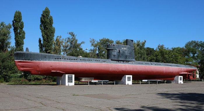 Подводная лодка М-296 (проекта 615) в Одессе. | Фото: ru.wikipedia.org.