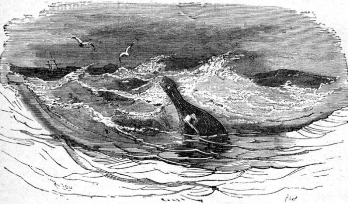 Иллюстрация из книги «Дети капитана Гранта» Жюля Верна, издание 1874 года.   Фото: gutenberg.org.