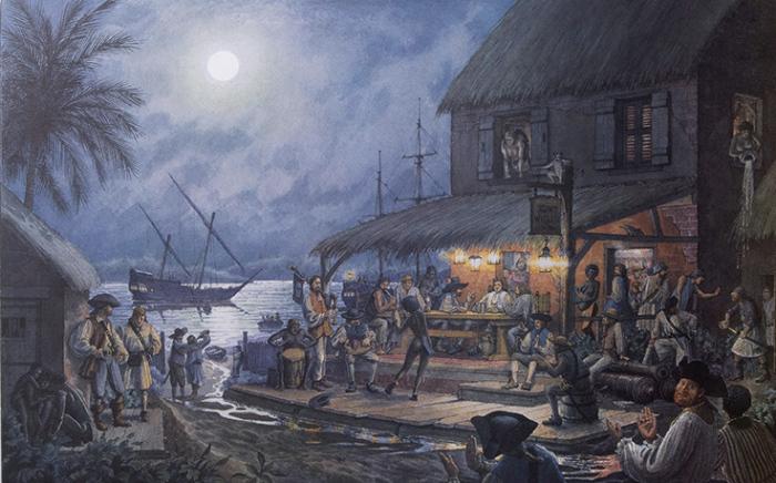 Пираты капитана Кидда на Мадагаскаре. | Фото: kulturologia.ru.
