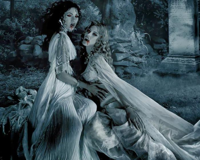 Любовь вампирш. | Фото: eleclipsedegyllenedraken.blogspot.com.