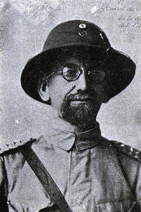 Иван Тимофеевич Беляев - российский генерал на парагвайской службе, 1935 год.   Фото: ru.wikipedia.org.
