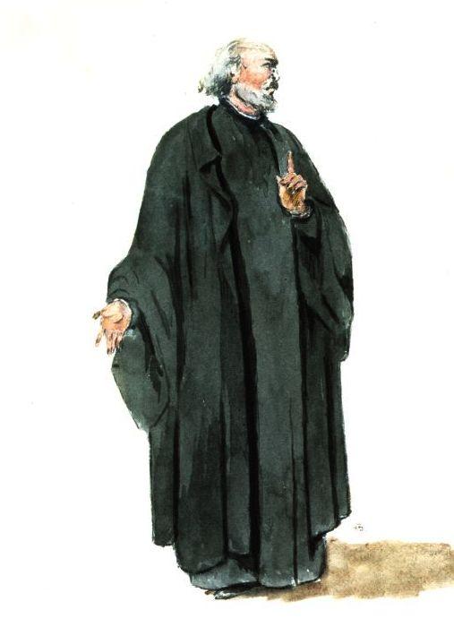 Иезуитский миссионер XVII века. Анри Бо, 1930 год. | Фото: virtualmuseum.ca.