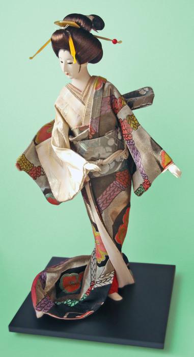 Традиционная японская кукла. | Фото: commons.wikimedia.org.
