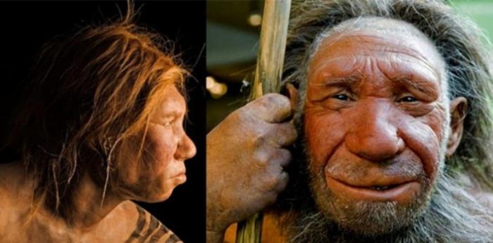 Реконструкция внешности неандертальского мужчины. | Фото: scientificrussia.ru.