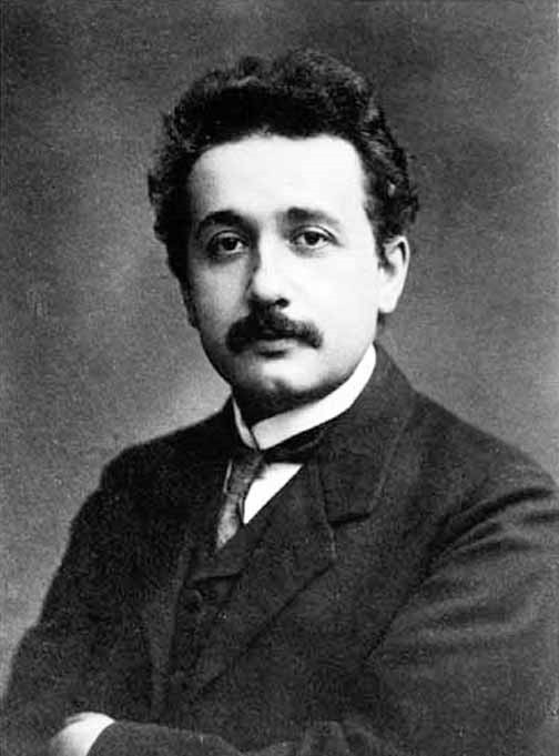 Молодой ученый Альберт Эйнштейн. |Фото: milenanguyen.wordpress.com.