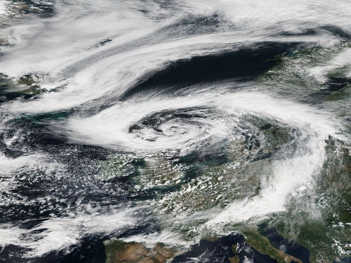 Циклон Берта над Европой. | Фото: en.wikipedia.org.