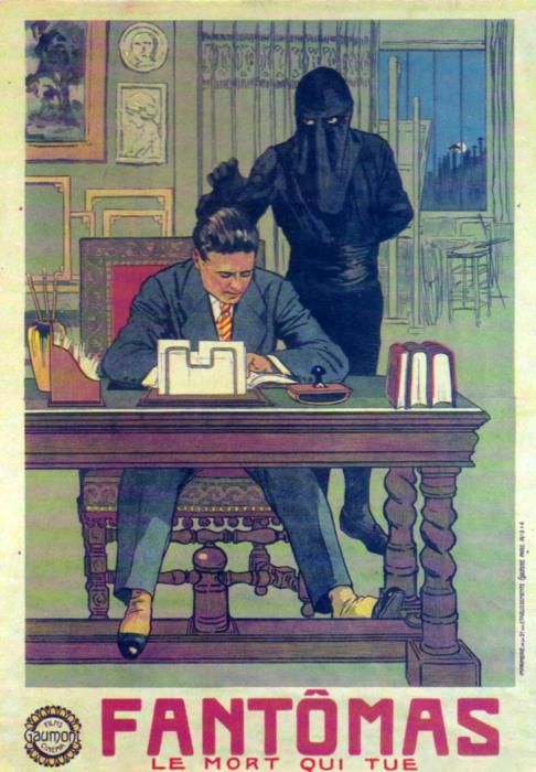 Обложка одного из первых изданий романа «Мертвец-убийца», 1914 год. | Фото: commons.wikimedia.org.