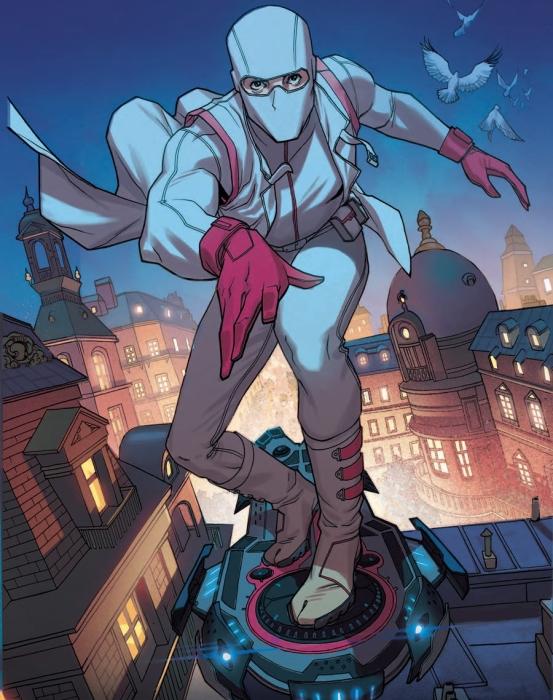 Фантомекс – герой комиксов «Люди Икс». | Фото: comicvine.gamespot.com.