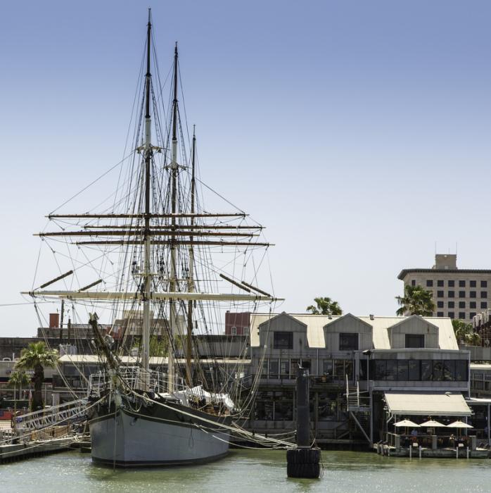 «Элисса» (Elissa), в порту Галвестон, штат Техас. | Фото: atlasobscura.com.