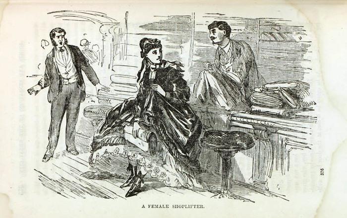 Женщины-грабители, 1872 год. | Фото: librarycompany.org.