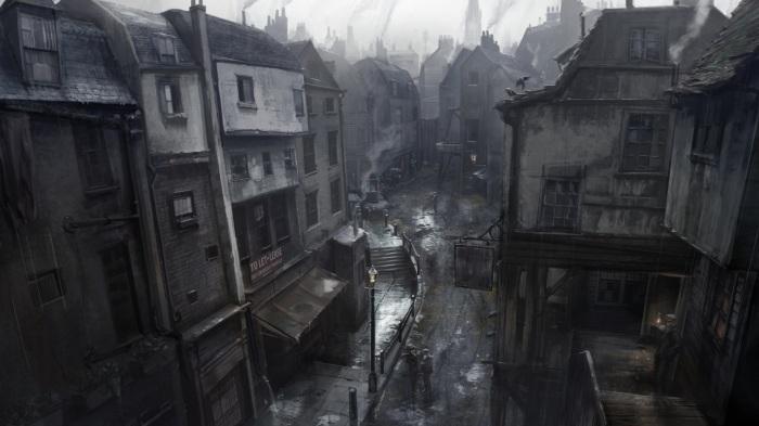 Трущобы викторианского Лондона. | Фото: playstation.com.