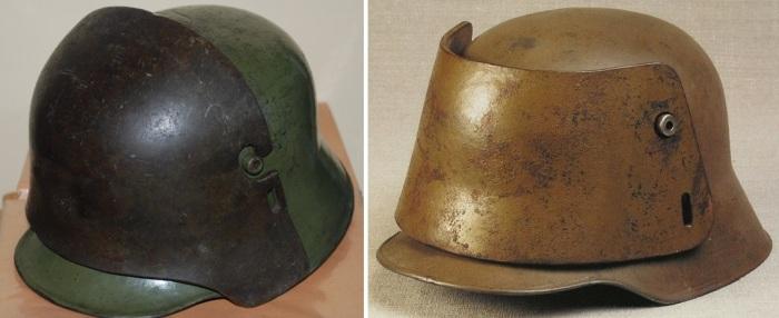 Шлемы М16 со съемными броневыми пластинами.   Фото: reibert.info.