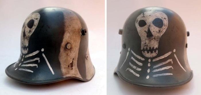 Шлем М17, используемый финскими войсками во время Зимней войны 1939-1940 гг.   Фото: alexanderandsonsrestorations.com.