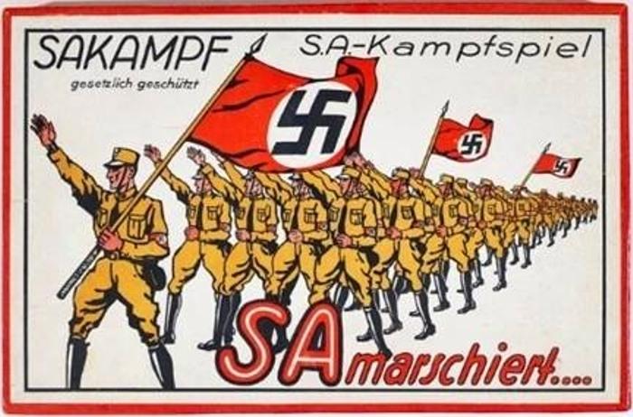Немецкая настольная игра 1933 года. | Фото: atlasobscura.com.