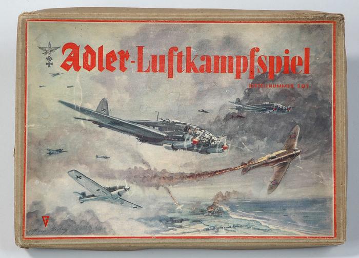 Воздушно-боевая настольная игра, 1941 год. | Фото: atlasobscura.com.