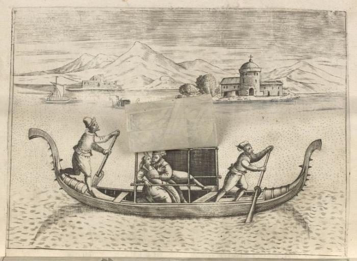 … и после. Венеция, XVI век. | Фото: digitalcollections.nypl.org.