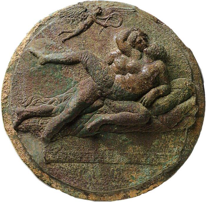Эротическое искусство древних греков, около 320 г. до н.э. | Фото: commons.wikimedia.org.