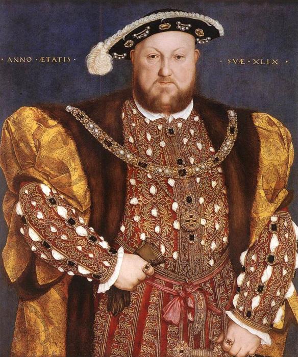 Король Англии Генрих VIII Тюдор (1491-1547). | Фото: luminarium.org.