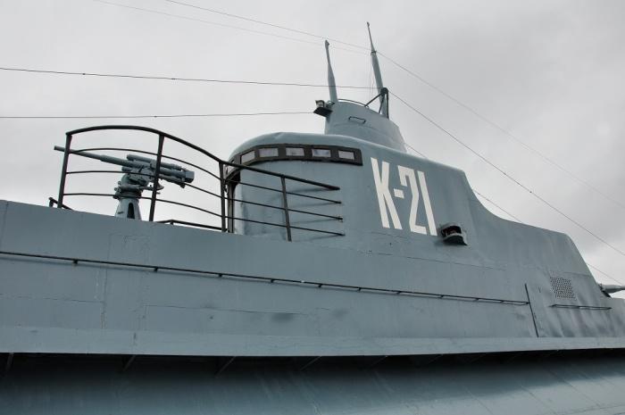 Боевая рубка подлодки К-21. | Фото: io.ua.