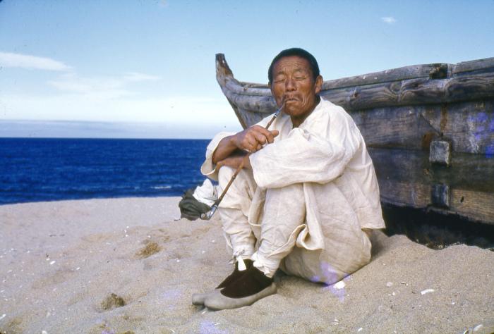 Корейский моряк в традиционной одежде имперских времен вековой давности.