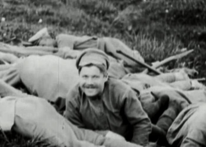 Солдат-большевик, 1919 год. | Фото: youtube.com.