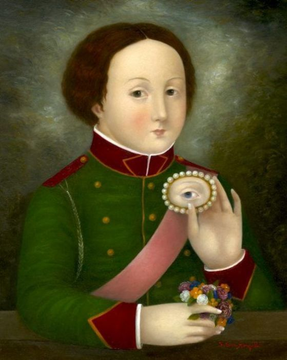 Портрет любимой девушки.   Фото: pinterest.com.