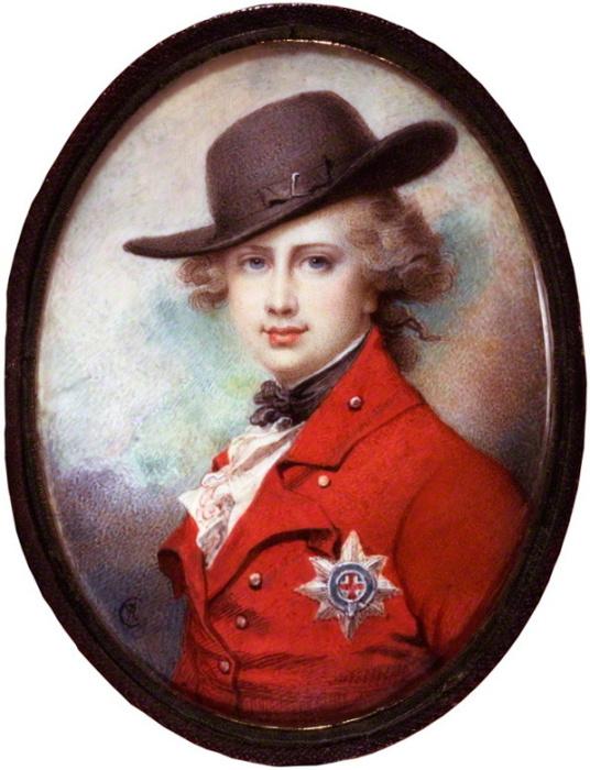 Принц Уэльский и будущий король Великобритании Георг IV. Ричард Косвей, 1780-1782 гг.   Фото: en.wikipedia.org.