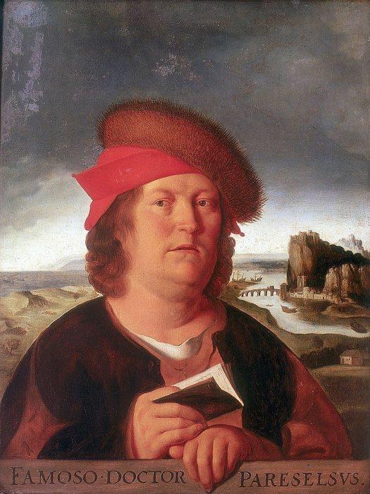 Портрет доктора Парацельса. Квентин Массейс, XVI век. | Фото: commons.wikimedia.org.