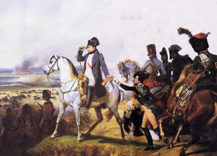 Наполеон во время битвы при Ваграме 6 июля 1809 г. Орас Верне.   Фото: pro100-mica.livejournal.com.