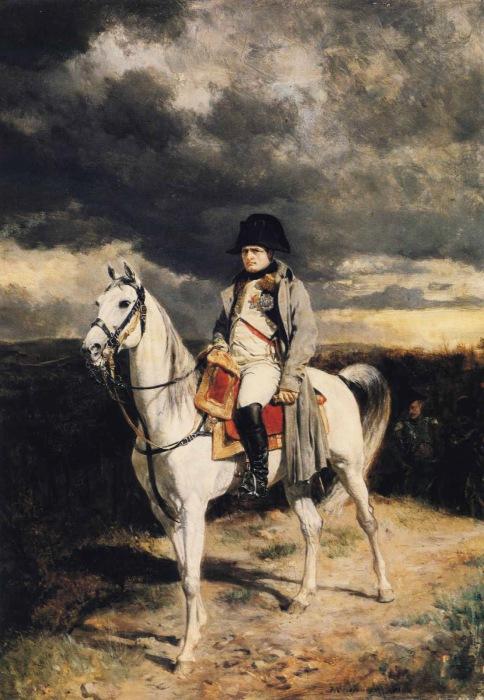 Наполеон I в 1814 году. Жан-Луи-Эрнест Месонье, 1862 год.   Фото: pinterest.com.