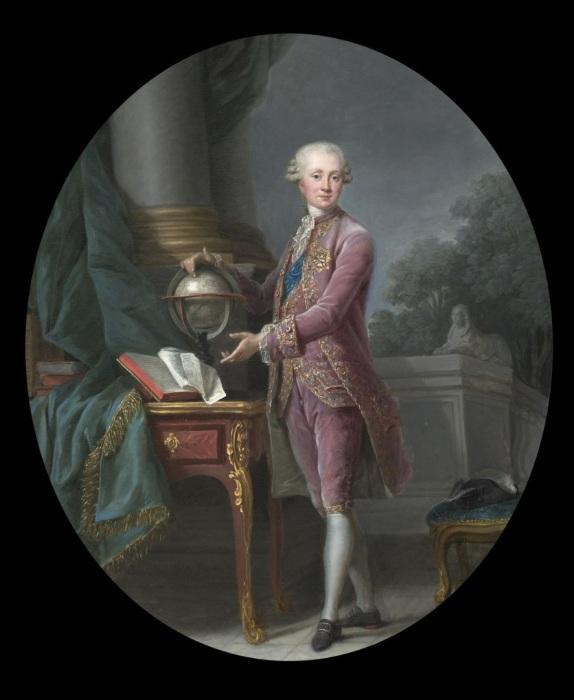 Принц Карл Генрих Нассау-Зиген.  Мария Элизабет Луиза Виже Лебрен, 1776 год. | Фото: navy-chf.livejournal.com.