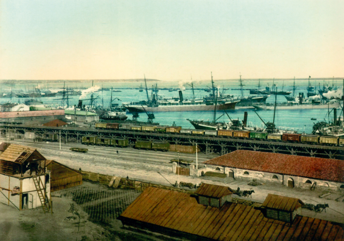 Одесский торговый порт. | Фото: focus.ua.
