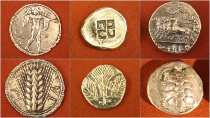 Монеты Древней Греции. | Фото: ancient.eu.