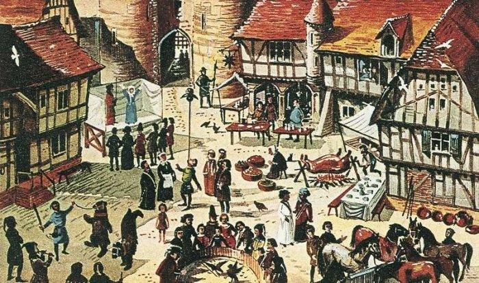 Средневековая ярмарка. | Фото: lordofthecraft.net