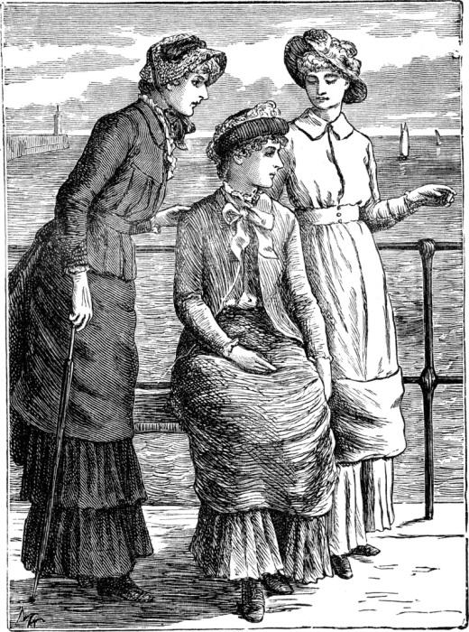 Модели платьев, наиболее удобные для женщин, 1885 год. | Фото: commons.wikimedia.org.